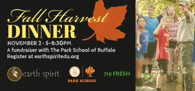 Support Earth Spirit at this unique, fun Fall fundraising event!
